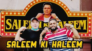 Saleem ki Haleem || Saleem Pheku || Haleem Review || Hyderabad Food walks ||