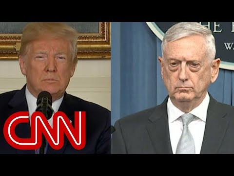Trump forcing Mattis out by New Year's Day