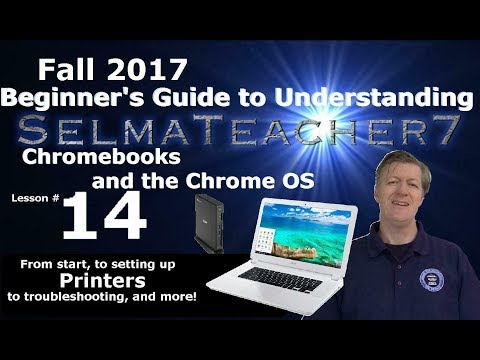 Google Chrome Devices- Setting a Printer on Chrome - Shopper's Guide Lesson 14