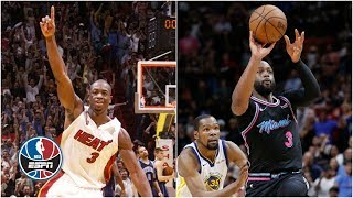 Dwyane Wade's history of game-winning buzzer-beaters | NBA Highlights