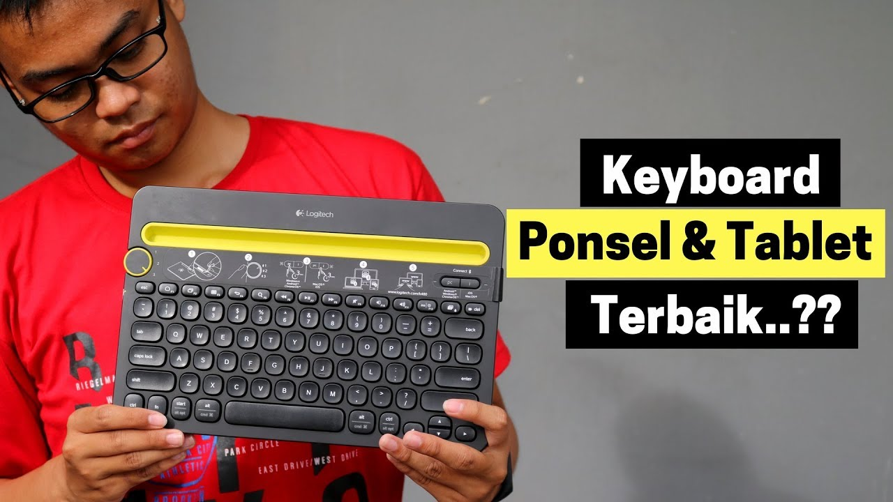 Review Keyboard Logitech K480 (Indonesia)