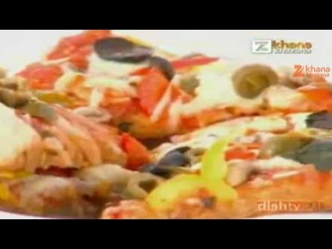 how to make pan pizza at home by sanjeev kapoor