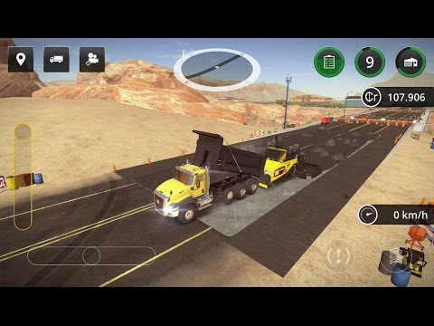 Construction Simulator 2 - #2 Asphalt - Gameplay