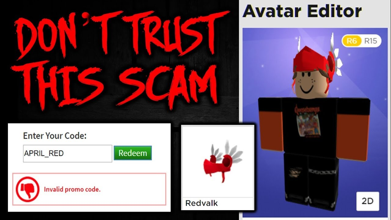 I Hope You Don T Fall For This Red Valk Scam Youtube
