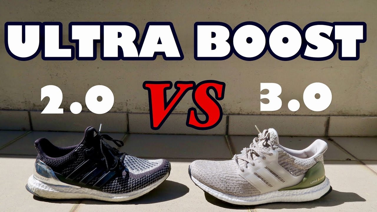 6c3cf38c265 2017 Adidas Ultra Boost 3.0 vs Ultra Boost 2.0! - YouTube