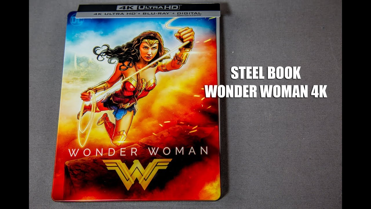 Wonder Woman 4k Steelbook Review Unboxing