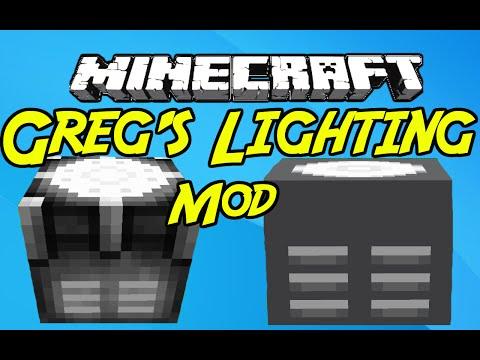 "Minecraft Mods: ""  Greg's Lighting Mod 1 .7 .10 """
