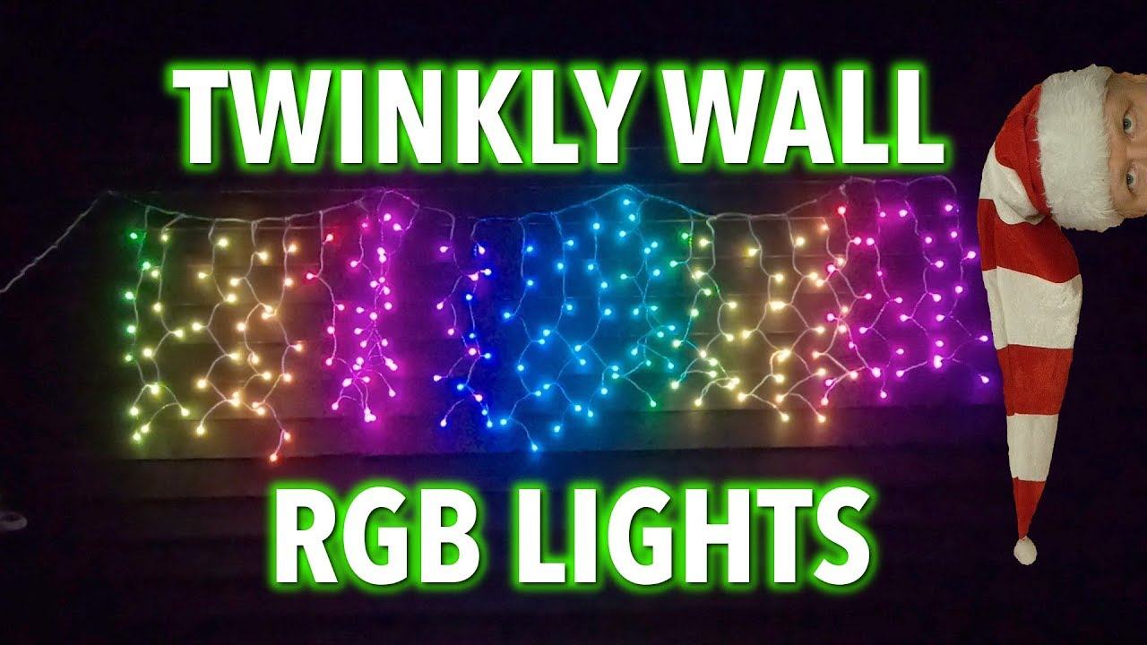 newest 19f65 8991f Tinkering with Twinkly Wall 200 LED RGB lights