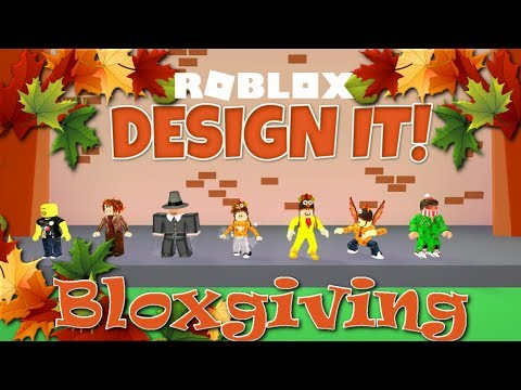 Roblox Bloxgiving Event | Design It! Turkey Head and Tail | SallyGreenGamer Geegee92 Family Friendly