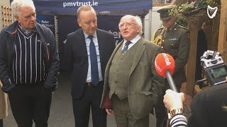 'It's often human rights against forms of economy' - President Michael D Higgins speaks at Peter ...
