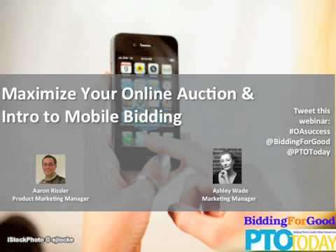 An Intro to Mobile Bidding | Maximize Your Online Auction