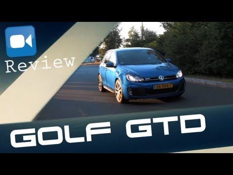Volkswagen Golf VI GTD Review (English Subtitles)
