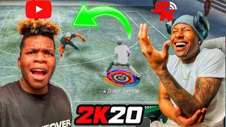 ALL ISO with IMDAVISSS and DUKE DENNIS on NBA 2K20! THE UNDEFEATED DUO MYPARK TAKEOVER ONCE AGAIN!