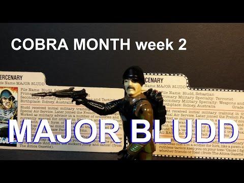 HCC788 - MAJOR BLUDD - COBRA MONTH vintage G. I. Joe toy review! HD