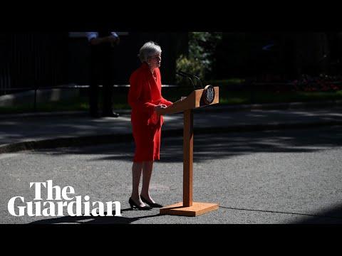 Prime minister Theresa May's resignation speech in full