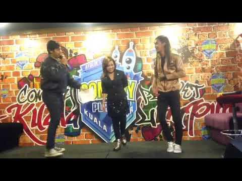 Kimie Noorddin & Ziera Ahmad - Hati ini telah dilukai ( cover comedy planet ) Krisdayanti ft Ajai