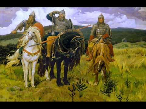 #2 вопрос БАТТЛ. Картина Васнецова Три Богатыря
