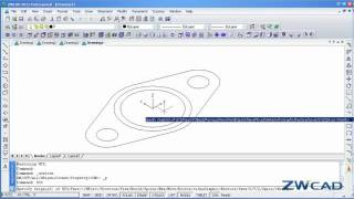 ZWCAD 3D Tutorial: How to Create Pipe Elbow