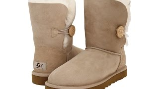 Обзор UGG Bailey Button Sand