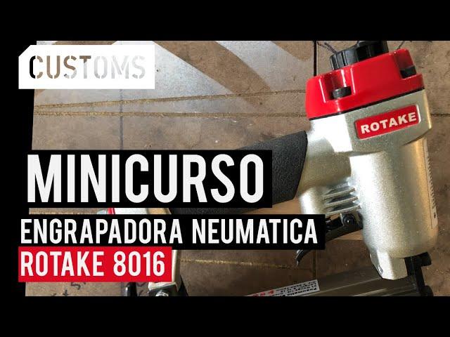 Engrapadora Rotake 8016 | MINICURSO | CUSTOMS