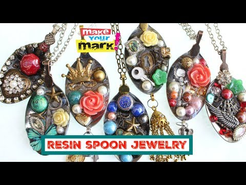 Resin Spoon Jewelry DIY