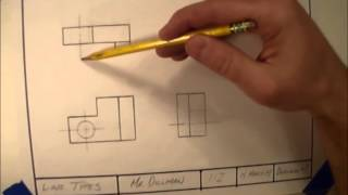 Line Types In Technical Drawings