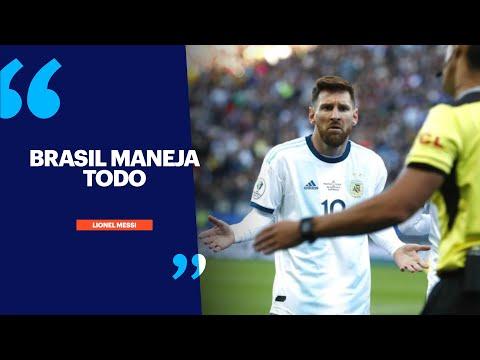 Las declaraciones de Messi post partido