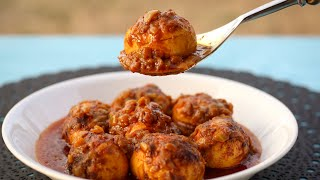 সিম্পল ডিম ভুনা | Dim Vuna | Egg Curry | Hard Boiled Egg Curry