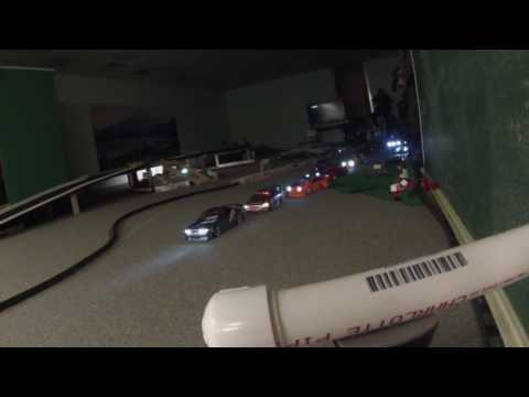 Rc drifting under lights