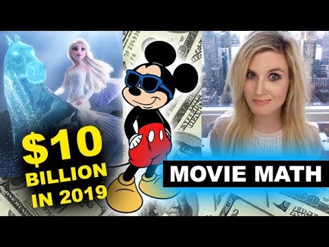 Box Office - Frozen 2 Nears Billion, Disney $10 Billion 2019