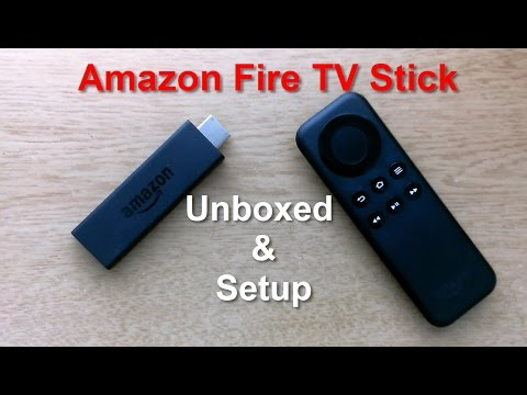 Amazon Fire TV Stick Unboxing, Setup & Review - Awesomely FAST - Replace Cable TV