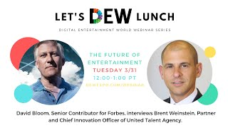 Let's DEW Lunch Webinar with UTA (March 31, 2020)