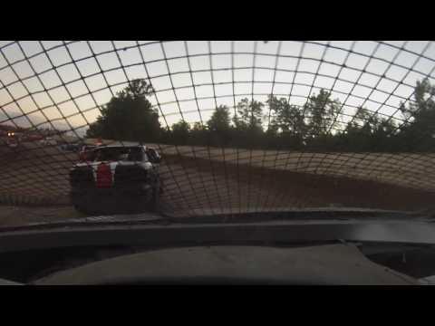 7/22/16 Ransomville speedway 4 banger feature from 154