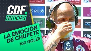 ¡HASTA LAS LÁGRIMAS! ❤️ Humberto Suazo se quebró en homenaje por su gol 100 en Chile