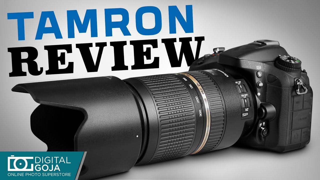 Tamron 70-300mm f/4 0-5 6 SP Di VC USD XLD Lens for NIKON Cameras  (AFA005NII-700)
