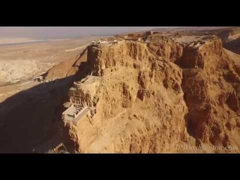 Amazing Aerial View of Masada in 4k - Drone Cinematography by Jeffrey Worthington
