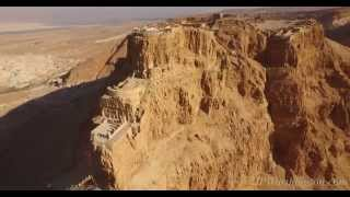 Amazing Aerial View of Masada in 4k - Drone Cinematography by Jeffrey Worthington