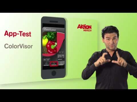 Apps im Test: ColorVisor (Deutsche Gebärdensprache)