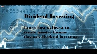 Dividend investing  strategy - Create passive income with dividend investing
