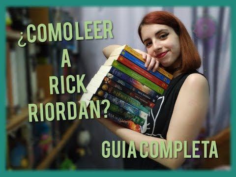 ¿Cómo leer a Rick Riordan? Guía completa | Los mundos de Cami 🌎