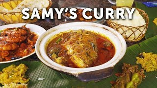 The Oldest and Most Authentic South Indian Restaurant in Singapore: Samy's Curry