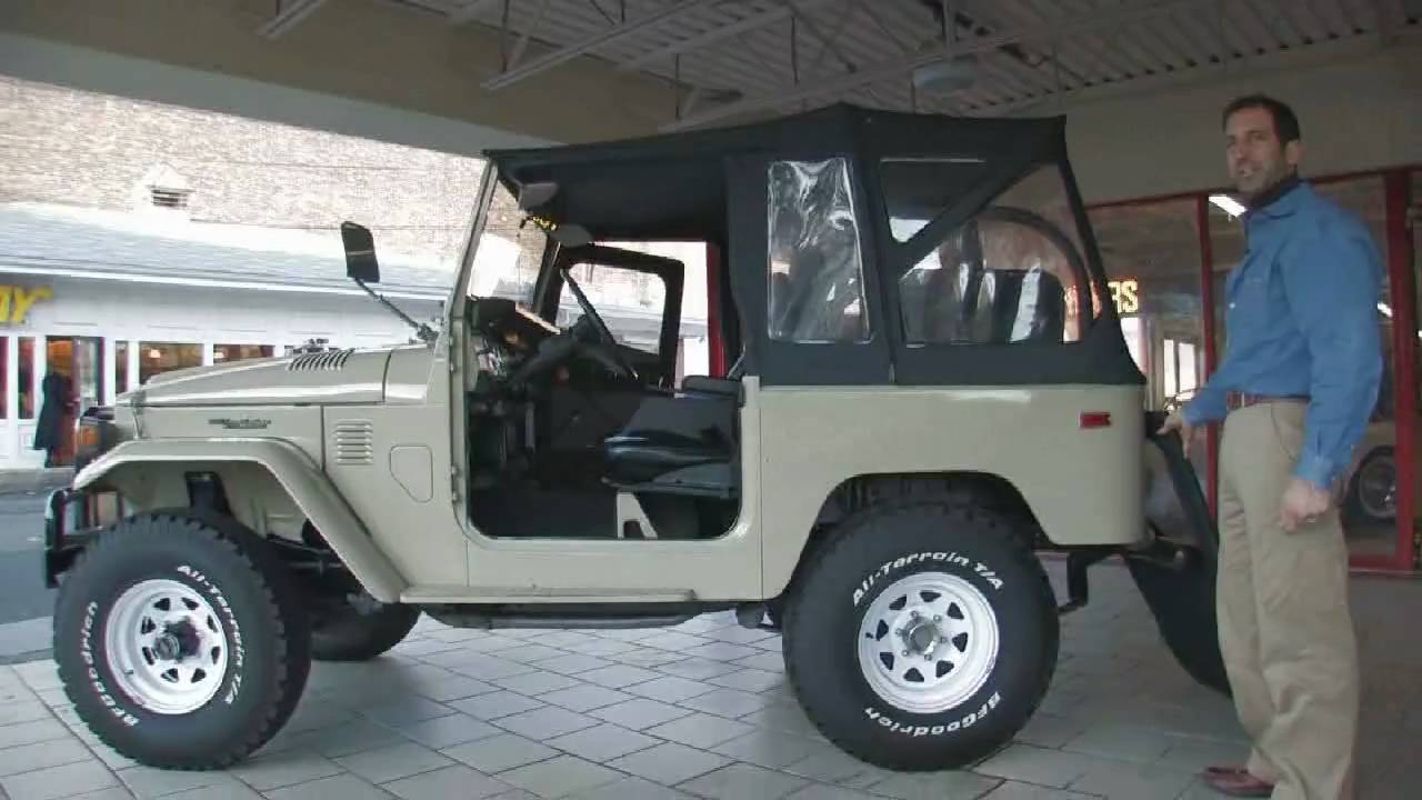 Toyota Fj40 For Sale >> 1976 Landcruiser FJ40 for sale at with test drive, driving sounds, and walk through video - YouTube