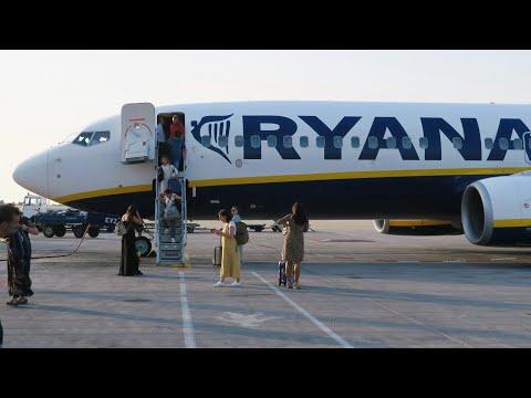 Boeing 737-800 а/к Ryanair | Рейс София - Афины
