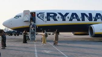Boeing 737-800 а/к Ryanair   Рейс София - Афины