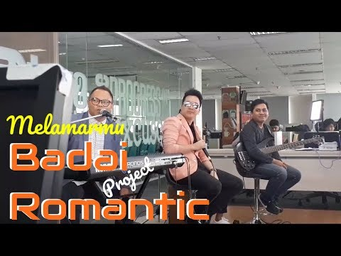 Melamarmu - Badai Romantic Project Live at Detikcom