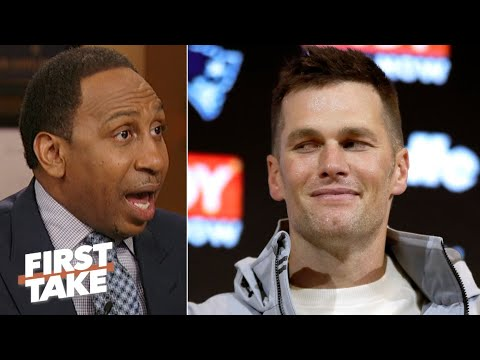 Stephen A. suspects Tom Brady is over being tied to Bill Belichick | First Take