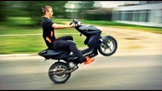 Обзор скутера Yamaha Aerox