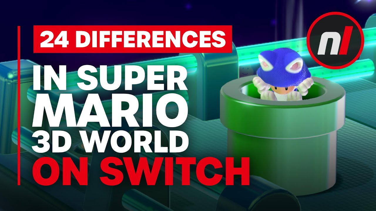 Download 24 Major (& Minor) Differences in Super Mario 3D World on Switch