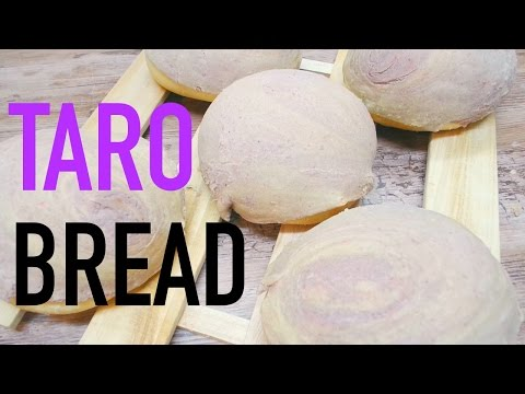 TARO BREAD RECIPE 🍞💜