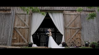 This is how you do a barn wedding! | Erin & Zach's Wedding Film
